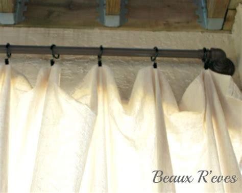 drop cloth curtains back patio my house a home