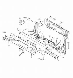 Ge Jbp35gj2ss Electric Range Parts