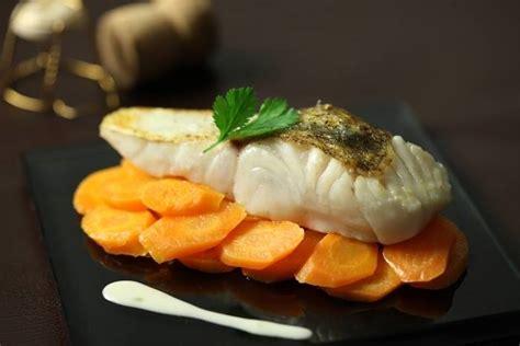 sandre cuisine recette de pavé de sandre crème de chagne carottes