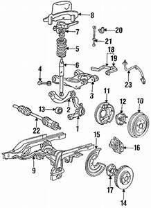Rear Suspension For 1996 Ford Thunderbird