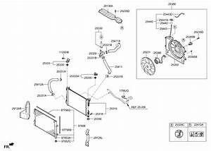 2016 Hyundai Accent Engine Cooling System