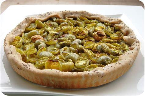 cuisine tomates vertes tarte aux tomates vertes cuisine et dépendances