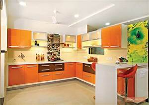 orange laminate kitchen cabinet With best brand of paint for kitchen cabinets with wall glass candle holders
