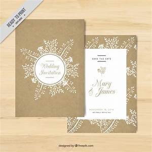 golden wedding invitation with floral elements vector With golden wedding invitations free downloads
