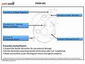 Buy Starter Generator For Yamaha G16  G17  G18  G19  G20