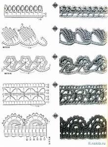 Crochet Edges Pattern Diagrams  U22c6 Crochet Kingdom