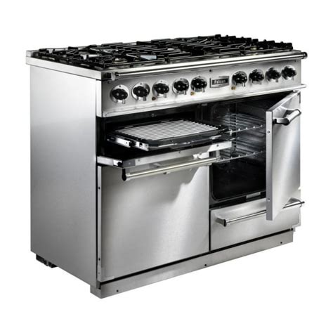 falcon range cooker falcon range cookers 1092 deluxe dual fuel range cooker f1092dxdfwh ng white with brushed
