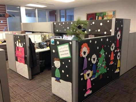 office cubicle christmas decorating ideas madinbelgrade
