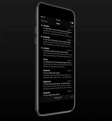 iphone  dark mode mockups   darth vader squee