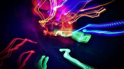 Colorful Lines Wallpapers 4k Background Leds Neon