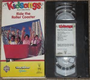 Kidsongs Ride the Roller Coaster VHS eBay