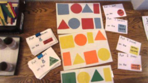 teacher  materials  early literacy math  motor