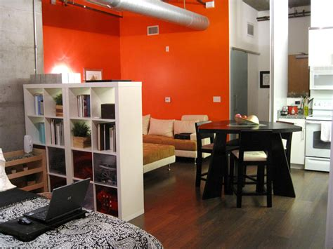 Studio Apartment : Creative Small Studio Apartment Ideas With Space-saving
