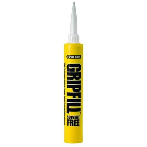 gripfill ml solvent  gap filling adhesive