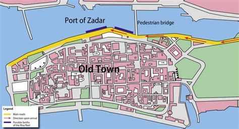 embarkation zadar   blue cruise croatia