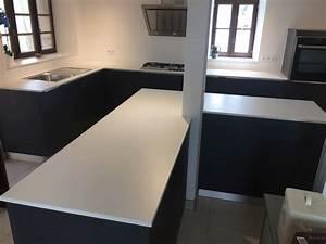 Plan De Travail Dekton : plan de travail en dekton blanc zenith bergerac ~ Melissatoandfro.com Idées de Décoration