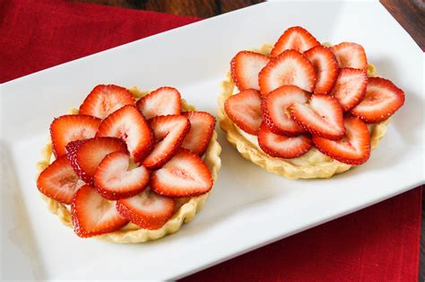 Cardamom Strawberry Tartlets
