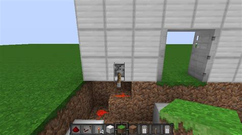 minecraft iron door 1 5 1 minecraft iron door with levers tutorial