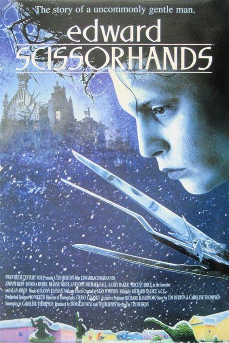 edward scissorhands posters edward scissorhands poster