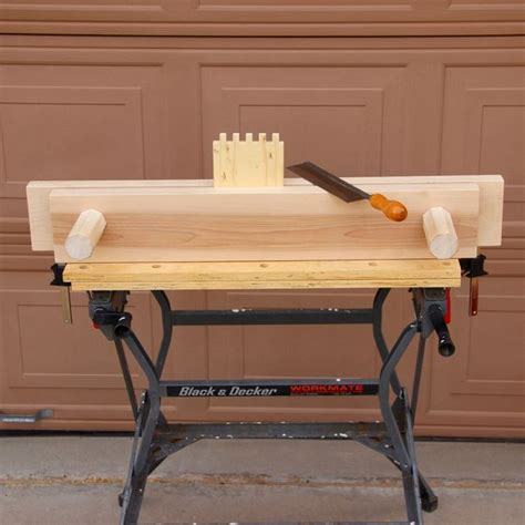 bench vise  woodworking  steps  pictures