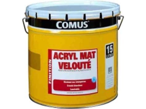 Peinture Finition Mat Lavable Comus® Acryl Mat Veloute