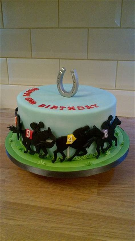 images  horse racing cake  pinterest