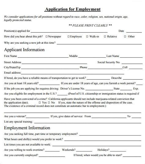 employment agreement templates sample templates