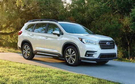 Comparison  Subaru Ascent Premium 2019  Vs Subaru