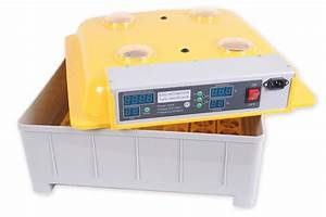 Chicken Egg Incubator 48 Eggs Hatcher Automatic Turning
