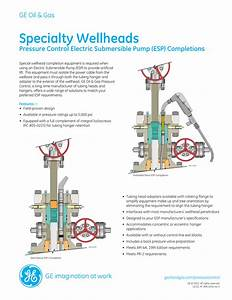 Ge Surface Specialty Wellheads Brochure