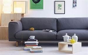 Kleines Wohnzimmer Groes Sofa