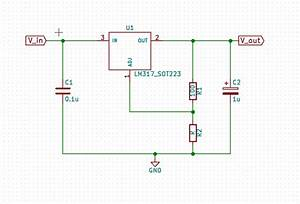 8  Voltage Regulator Circuit From The Lm317 Datasheet