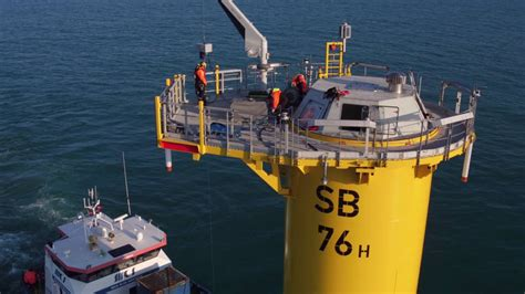 sandbank offshore wind farm inter array cable installation youtube