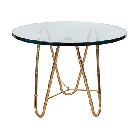 faux bamboo table l brass faux bamboo table side end tables john salibello
