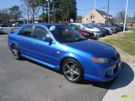 2003 Mazda Protege Mazdaspeed by Laser Blue Mica 2003 Mazda Protege Mazdaspeed Exterior