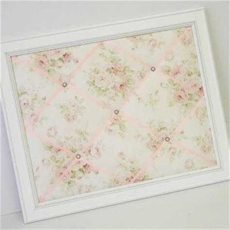 shabby chic fabric memo board shop fabric memo board on wanelo