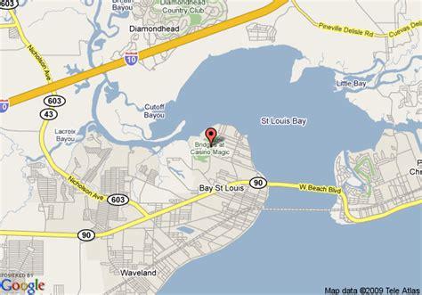 Map Of Casino Magic Bay Tower Hotel, Bay Saint Louis