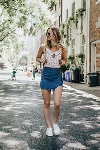 Bringing Back The Skort - LivvyLand | Austin Fashion and Style Blogger