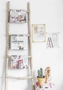 Echelle Decorative Casa : creative diy ideas to repurpose your old ladders noted list ~ Teatrodelosmanantiales.com Idées de Décoration