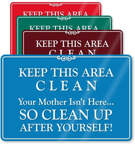 Kitchen Clean Up Signs by Pin By Keck On Signs And Notices In 2019 Kitchen