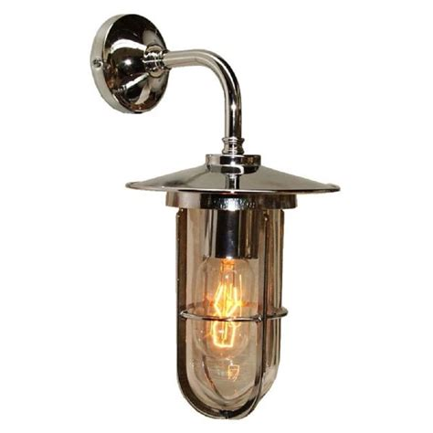 old style wall lights antique silver industrial style wall light with well glass
