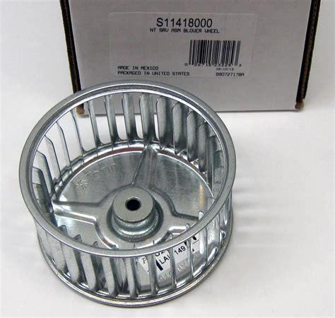 squirrel cage bathroom fan s11418000 broan nutone blower wheel 3 3 4 quot x 2 quot x 1 4
