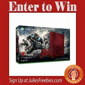 Win a Limited Edition Xbox One S - Julie's Freebies