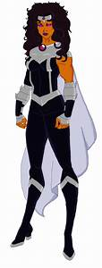 Young Justice Black Fire - Bing images