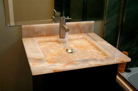 onyx sink contemporary bathroom los angeles