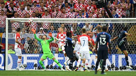 World Cup Fans Run Onto Field During Final Soccer