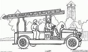 Malvorlagen Feuerwehrfahrzeug