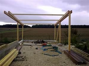 Construire Un Carport : carport bois yvelines ~ Premium-room.com Idées de Décoration