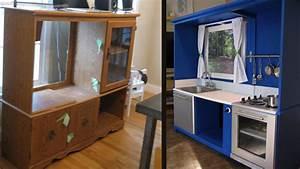 Idee Meuble Tv Fait Maison : 17 id es ing nieuses pour transformer d anciens meubles ~ Melissatoandfro.com Idées de Décoration