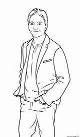 Coloring Pages Celebrity Baio Scott Printable Info sketch template